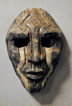 Polynesian ancient mask