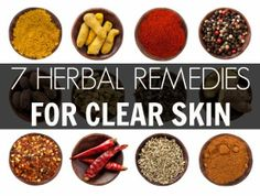 clear skin naturally - herbal remedy