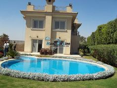 villa for rent inside compound katameya heights cool