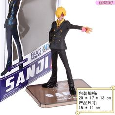 Japanese Anime Cartoon One Piece New World Two Years Later Sanji Action Figures PVC Doll Model Collection decoration gift from Reliable action figures $13.99