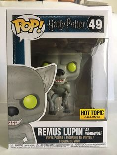 Funko POP! Harry Potter REMUS LUPIN AS WEREWOLF 49 Hot Topic Exclusive | eBay