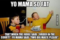 Funny Pictures, Memes, Humor & Your Daily Dose of Laughter Your Mama Jokes, Yo Momma Jokes, Kid Jokes, Haha Funny, Funny Stuff, Funny Man, Funny Jokes To Tell, Fun Funny, Funny Jokes
