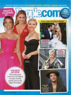 The beautiful #JessicaAlba wearing @Reem Acra Spring 2014 is in this weeks #People magazine. Her look was named one of the Best of 2013! #Fashion #RTW