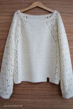 Pull Crochet, Gilet Crochet, Crochet Cardigan, Crochet Motif, Crochet Stitches, Crochet Hooks, Crochet Baby, Knit Crochet, Crochet Patterns For Beginners