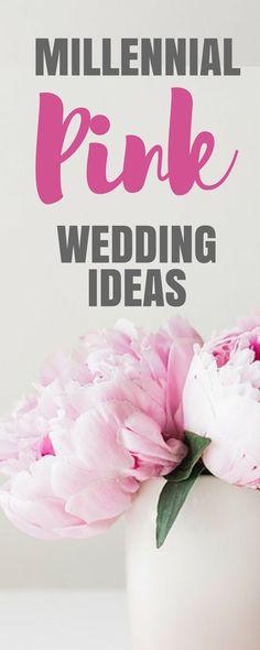 Millennial Pink Wedding Ideas | BeautifulPink Wedding Ideas to Inspire You