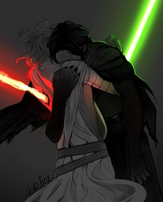 I DONT ship it but this is pretty good. Sad thou, if they were siblings and both going dark. No more misery for them