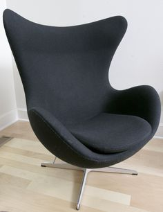 Jimmy Nielsen: The famous Egg chair by Danish architect Arne Jacobsen is a favorite.