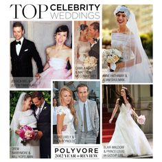 """""""Top Celebrity Weddings of 2012"""" by polyvore-editorial on Polyvore"""