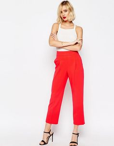 ASOS Occasion High Waist Tailored Peg Trouser Co-ord $60