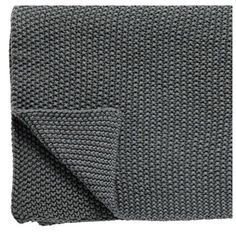 Design Vintage Charcoal Knitted Throw ($99) ❤ liked on Polyvore featuring home, bed & bath, bedding, blankets, dark gray bedding, dark grey throw blanket, vintage throw, dark grey blanket and hand knit blanket