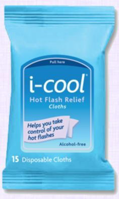 FREE Sample Pack of i-cool Hot Flash Relief Cloths