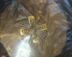 Vintage Amber Indian Glass Co. Dessert Dish Cup by 5of6sisters