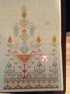 This Pin was discovered by Nur Cross Stitch Boarders, Dmc Cross Stitch, Cross Stitch Flowers, Cross Stitch Designs, Cross Stitch Patterns, Folk Embroidery, Hungarian Embroidery, Cross Stitch Embroidery, Embroidery Patterns