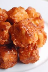 Buffalo Tofu Nuggets #recipe by Supper With Michelle #vegan #tofu #vegetarian
