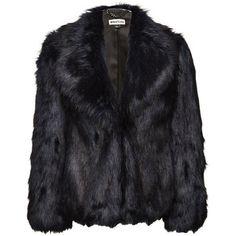 Whistles Kumiko Short Faux Fur Coat