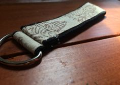 k + p | hand-stamped key ring