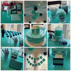 My Sweet Baby Girl Turned One Time Has Literally Flown By We Did A Breakfast At Tiffany Inspired Theme For Our Swe 18th Birthday PartyTiffany
