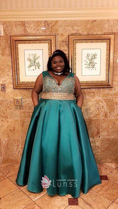 24 Best Plus Size Prom Dresses images in 2019 | Plus size prom ...