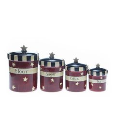 Family Table Canister Set