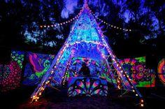 psychedelic FESTIVAL decoration - Google keresés