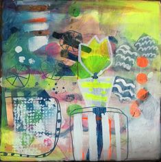 #abstract@art@painting#acrylic#garden#m.kobus