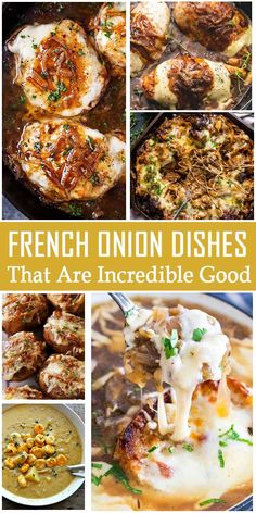 25 French Onion Dishes That Are Incredibly Delicious – My Recipes and Meal Plans Onion Recipes, Beef Recipes, Soup Recipes, Dinner Recipes, Cooking Recipes, Healthy Recipes, Dinner Ideas, Recipies, Vegetable Dishes