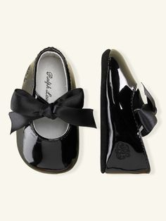 Briley Patent Leather Slipper - Baby New Arrivals - RalphLauren.com