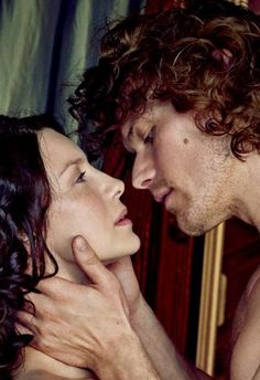 Outlander Season 2, Jamie and Claire, EW shoot, Sam Heughan Caitriona Balfe