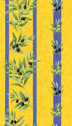 Provencal fabric. kitchen inspiration
