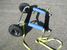 Granny Walker D.I.Y. kayak cart