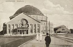 Hannover: Stadthalle, 1914