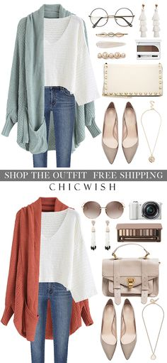 Free Shipping & Easy Return. Up to 30% Off. Shop for the cutest cardigan at chicwish.com. #outfit #clothing #winterfashion #fashion #winteroutfit #casualoutift #outfitidea #sweater #sweaterdress #womenfashion #falloutfit #warm #wintercoat