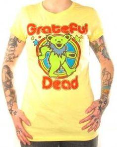 Grateful Dead, Girls T-Shirt, Dancing Bear