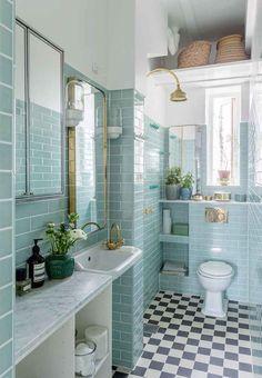 Post: Azul claro en todas las habitaciones --> decoración azul claro, decoración colorida, decoración en azul, decorar con plantas y flores, diseño nórdico, estilo escandinavo, estilo nórdico, mint deco, piso danes, scandinavian kitchen, decoblog, interior inspiration