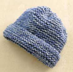 Loom  Knit Tweedy Hat #Beginner #Lion's Brand