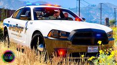 GTA 5 - LSPDFR Sheriff Patrol - Street Racers + Dog Attack