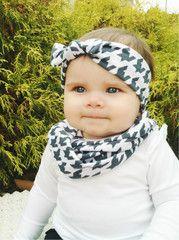 Baby/Child Scarf & Headband Duo (Of Choice)