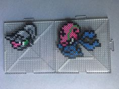 #616-#617 Shelmet and Accelgor Perlers by TehMorrison