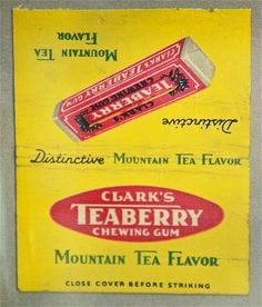 Teaberry Chewing Gum | por Lester Public Library