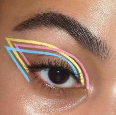 Makeup Eye Looks, Eye Makeup Art, Halloween Makeup Looks, Crazy Makeup, Eyeshadow Makeup, Makeup Brushes, Clown Makeup, Mac Makeup, Makeup Geek