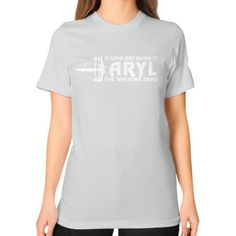 Daryl dixon Unisex T-Shirt (on woman)