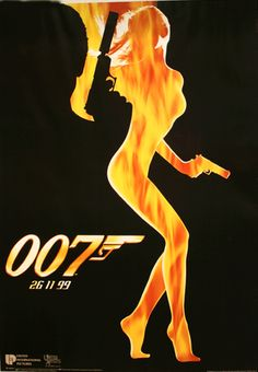 Bond girls can burn thier Image in your mind.....