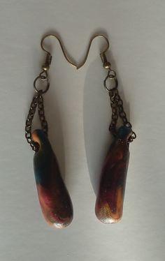 196. Schaufenster Ohrringe – Unikate Accessoires Drop Earrings, Gifts, Jewelry, Art, Fashion, Earrings, Blue Green, Ear Jewelry, Stud Earring