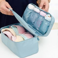 Casual Nylon Travel Waterproof Lightweight Underclothes Wash Cosmetic Storage Bags is fashion-NewChic Mobile.