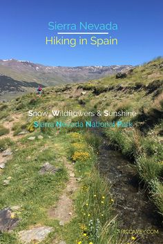 Hiking around the Sierra Nevada National Park in Southern Spain