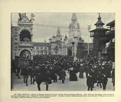The Midway - Pan-American Exhibition, 1901, Buffalo, NY