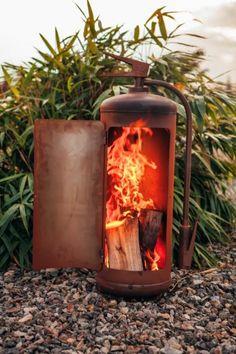 Feuertonne flammendesign 33kg gasflasche terrassenfeuer for Feuerkorb hornbach