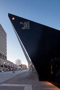 Place des Arts de Montréal by Stephane Groleau, via Behance