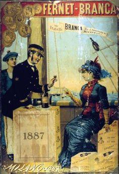 FERNET BRANCA POSTER 1887