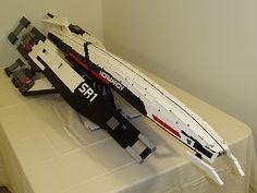 8-foot LEGO Normandy SR2 by ktorrek